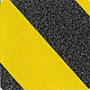 Anti-Slip Yellow-Black Stripe