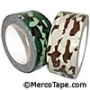 Camouflage Colored Coated Duct Tape